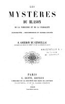 Les mystères du blason, de la noblesse et de la féodalité