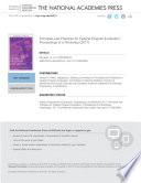 Principles and Practices for Federal Program Evaluation Book