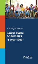 Pdf A Study Guide for Laurie Halse Anderson's