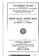 Rich Man  Poor Man Book