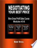 Negotiating Your Best Price