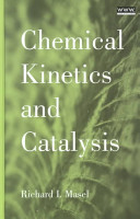 Chemical Kinetics and Catalysis Book