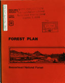 Beaverhead National Forest (N.F.), Land and Resource(s) Management Plan (LRMP)