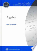 Algebra [Pdf/ePub] eBook