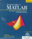 Cover of The Student Edition of MATLAB