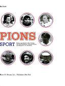 Champions of American Sport Book