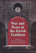 War and Peace in the Jewish Tradition