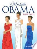 Michelle Obama Paper Dolls Book