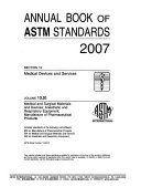 Annual Book of ASTM Standards Book
