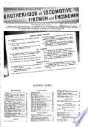Brotherhood of Locomotive Fireman and Enginemen's Magazine  , Volumes 120-121