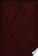 Ham s revenue and mercantile year book  afterw   Ham s year book  ed  by G D  Ham Book PDF