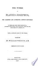 The Works of Flavius Josephus Book PDF