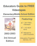Educators Guide To Free Videotapes Book