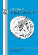 De bello Gallico VI