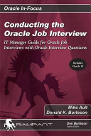 Conducting the Oracle Job Interview