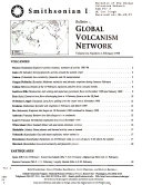 Bulletin Of The Global Volcanism Network Book PDF