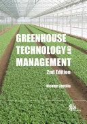 Greenhouse Technology and Management [Pdf/ePub] eBook