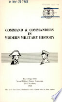 Command and Commanders in Modern Warfare