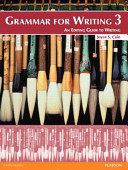Grammar for Writing 1
