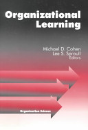 Thumbnail Organizational learning