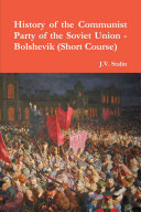 History of the Communist Party of the Soviet Union (Short Course)