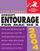 Microsoft Entourage 2004 for Mac OS X