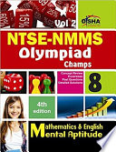 NTSE-NMMS/ OLYMPIADS Champs Class 8 Mathematics/ Mental Ability/ English Volume 2