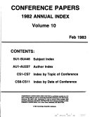 Conference Papers Index