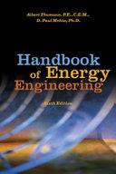 Handbook of Energy Engineering  Sixth Edition Book