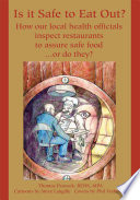 Is It Safe To Eat Out  Book PDF