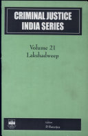 Criminal Justice India Series  Lakshadweep