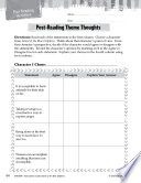 Island Of The Blue Dolphins Post Reading Activities Book PDF