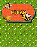 Handwriting Practice 120 Page Honey Bee Book Ethan