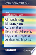 China s Energy Efficiency and Conservation