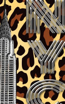 Iconic Chrysler Building New York City Leopard Drawing Writing Journal