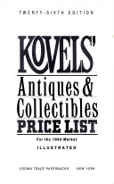 Kovels' Antiques and Collectibles Price List 1994