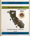 Revenue And Taxation Reference Book