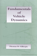 Fundamentals of Vehicle Dynamics Book