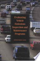 Evaluating Vehicle Emissions Inspection And Maintenance Programs Book PDF