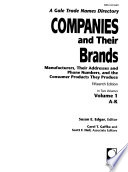 Companies and Their Brands  , Volume 15, Issue 1