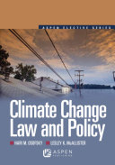 Climate Change Law and Policy