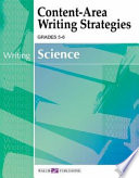 Content-Area Writing Strategies for Science