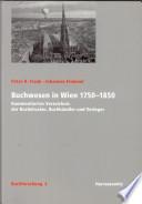 Buchwesen in Wien 1750-1850