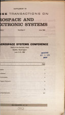 1966 Aerospace Systems Conference