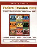 Federal Taxation 2002