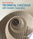 Technical Calculus With Analytic Geometry [Pdf/ePub] eBook