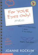 For Your Eyes Only!