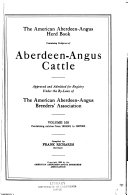 The American Aberdeen-Angus Herd-book