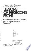 Lessons of the Second Front