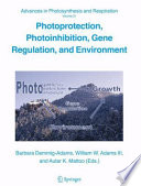 Photoprotection  Photoinhibition  Gene Regulation  and Environment